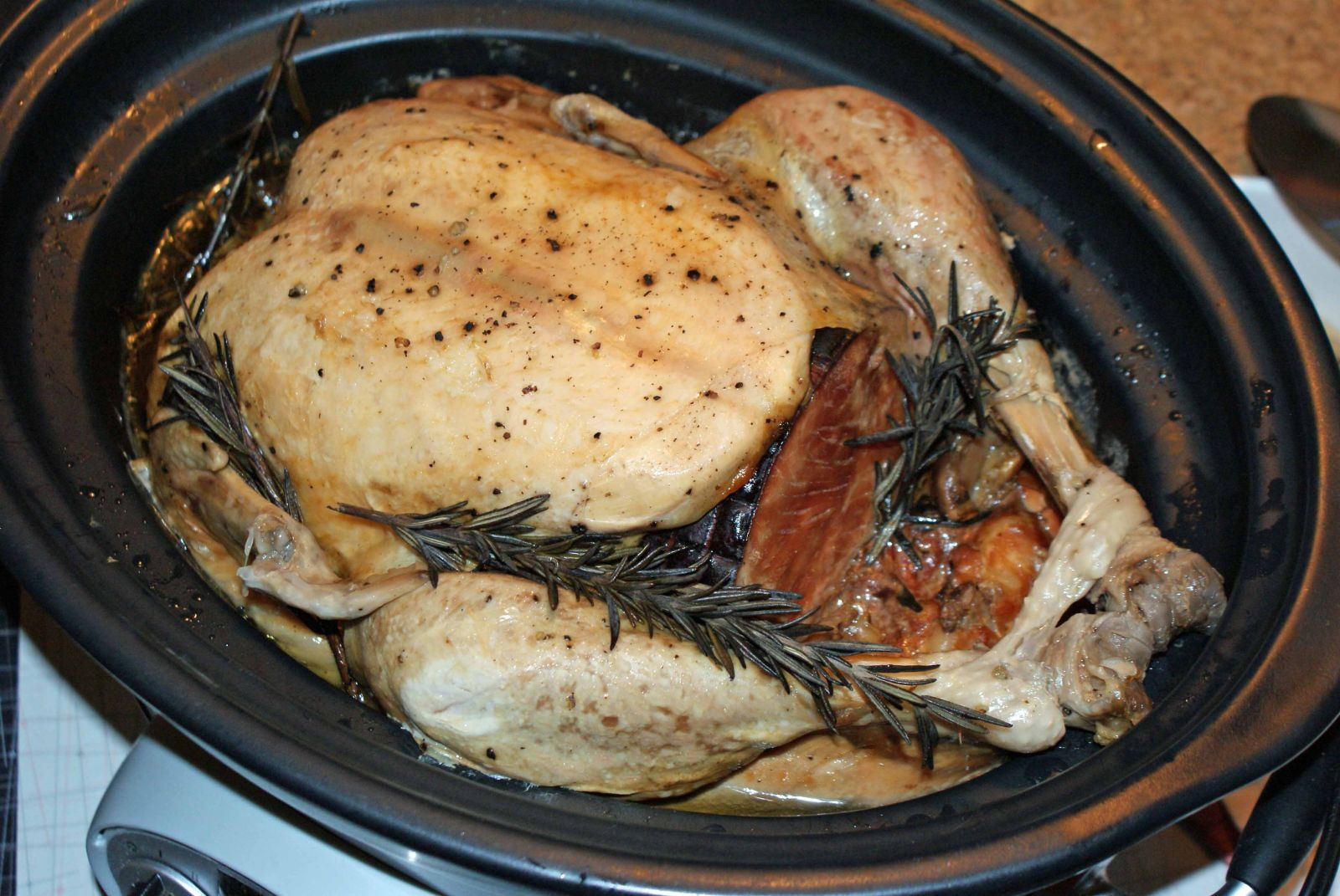 Turkey in slow cooker